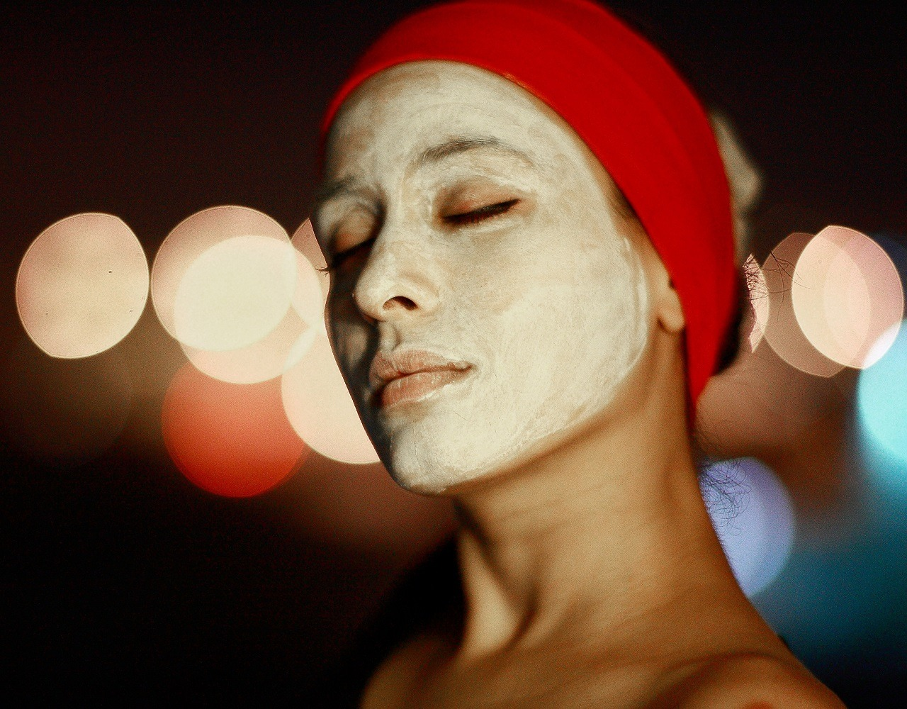 night cream, woman, acne