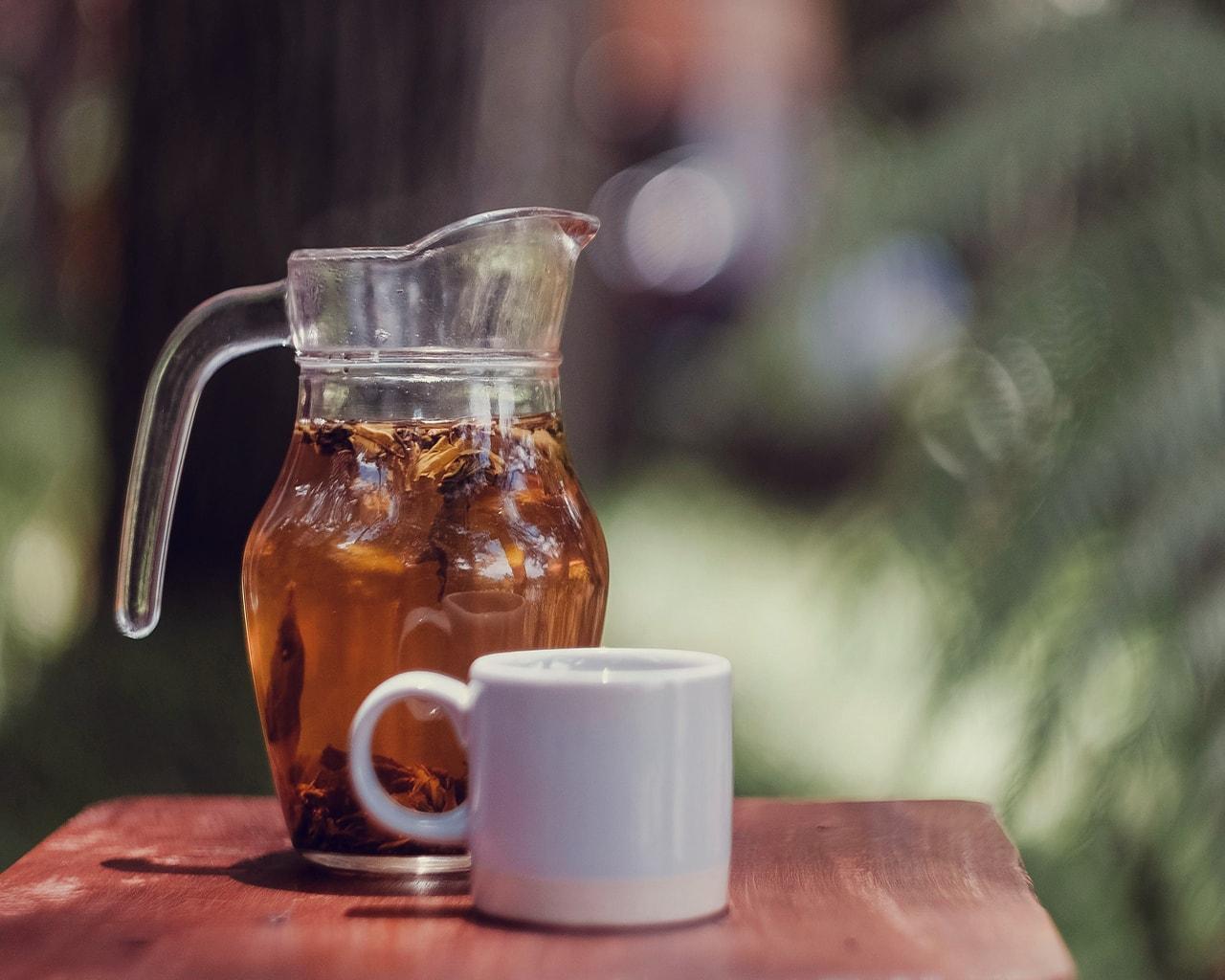 jasmine, tea, cup, refreshing