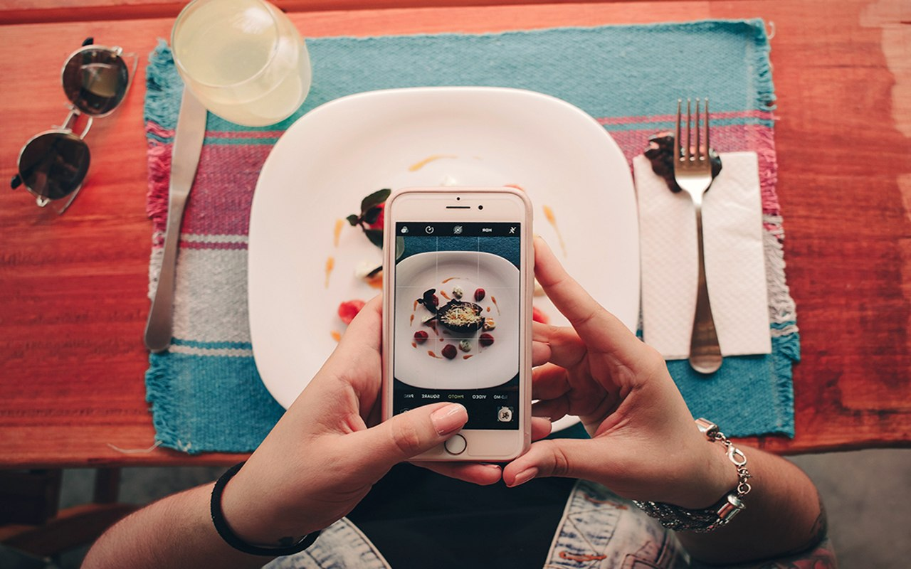 instagram, photo, food, phone, social media