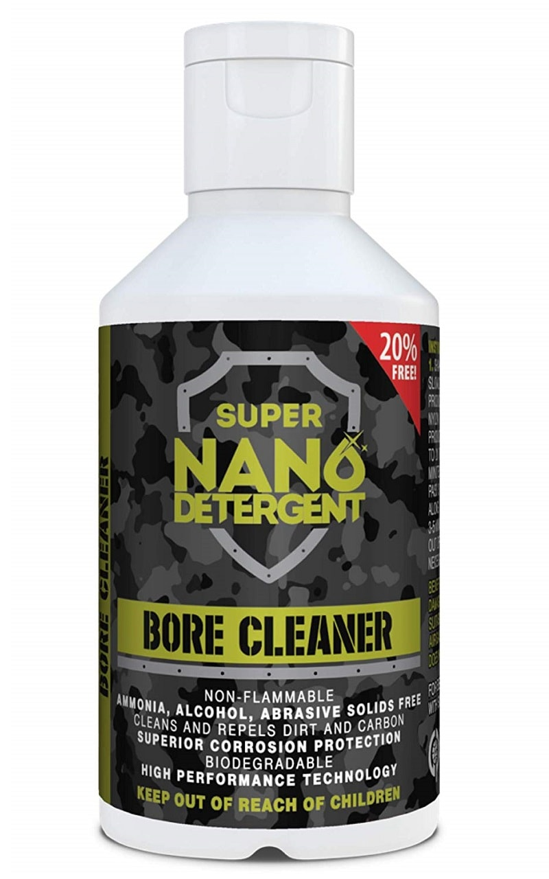 Super Nano, bottle, detergent, bore cleaner