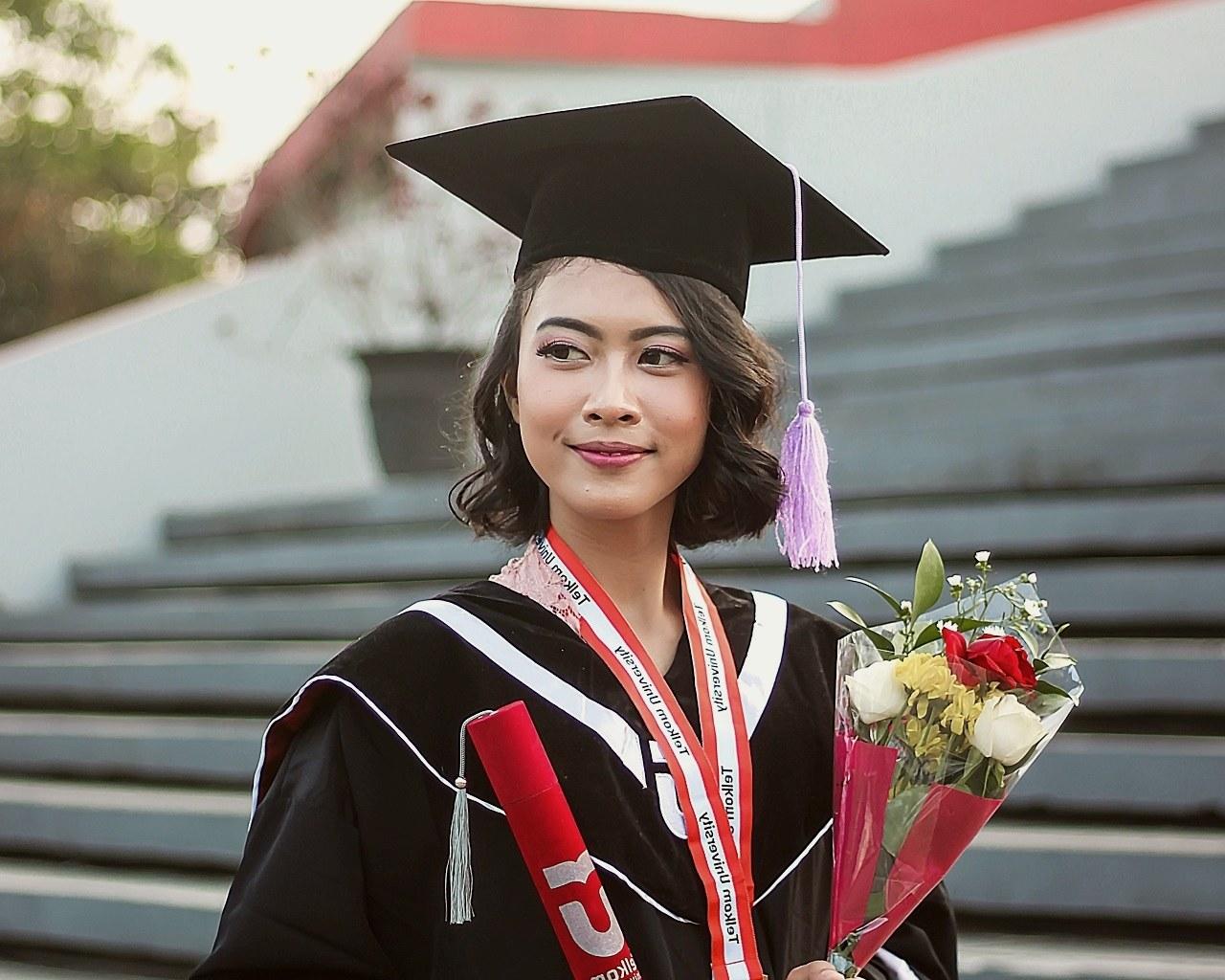 university, graduate, girl, diploma